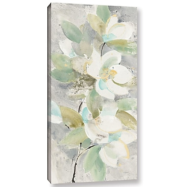 Varick Gallery 'Water Lilies' Print on Canvas; 24'' H x 16'' W x 2'' D