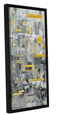 Varick Gallery 'Reflections II' Framed Print on Canvas; 36'' H x 12'' W x 2'' D