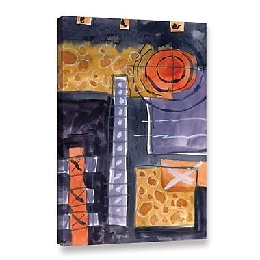 Varick Gallery 'Achromatic Passion' Print on Canvas; 12'' H x 8'' W x 2'' D