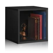 Varick Gallery Andrade Box 15'' Cube Unit Bookcase; Black