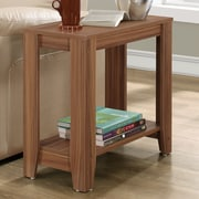 Varick Gallery Trombetta End Table; Walnut
