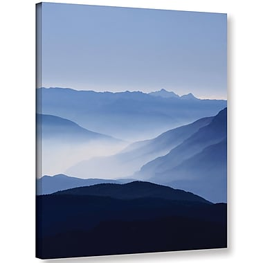 Varick Gallery 'Blue Mountains' Photographic Print on Wrapped Canvas; 18'' H x 14'' W x 2'' D