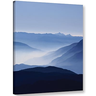Varick Gallery 'Blue Mountains' Photographic Print on Wrapped Canvas; 48'' H x 36'' W x 2'' D