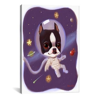 Varick Gallery Brian Rubenacker Astronaut Graphic Art on Wrapped Canvas; 40'' H x 26'' W x 0.75'' D
