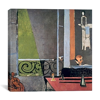 Varick Gallery The Piano Lesson (1916) Painting Print on Wrapped Canvas; 37'' H x 37'' W x 1.5'' D