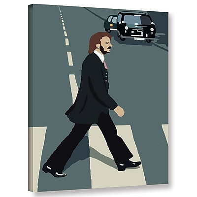 Varick Gallery 'Ringo' Graphic Art Print On Wrapped Canvas; 32'' H x 24'' W x 2'' D