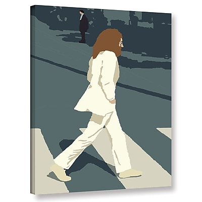 Varick Gallery 'John' Graphic Art Print On Wrapped Canvas; 18'' H x 14'' W x 2'' D
