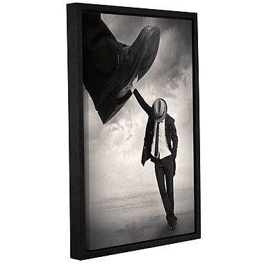Varick Gallery 'Still Standing' Framed Graphic Art Print on Canvas; 12'' H x 8'' W x 2'' D