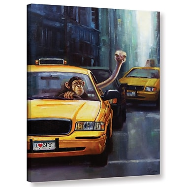 Varick Gallery 'Rush Hour' Painting Print on Canvas; 24'' H x 18'' W x 2'' D