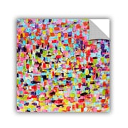 Varick Gallery Printers Row a Touch of Color Wall Mural; 36'' H x 36'' W x 0.1'' D