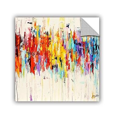 Varick Gallery Printers Row Abstract Rainbow Wall Mural; 24'' H x 24'' W x 0.1'' D