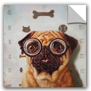 Varick Gallery Balbo Canine Eye Exam Wall Decal; 36'' H x 36'' W x 0.1'' D