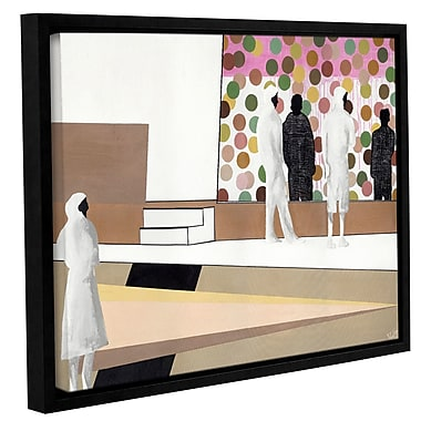 Varick Gallery 'The Gallery' Framed Painting Print On Wrapped Canvas; 18'' H x 24'' W x 2'' D