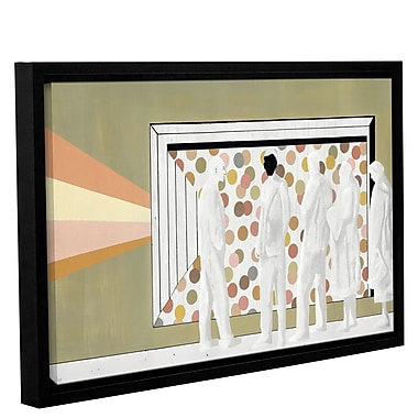 Varick Gallery 'The Lineup' Framed Painting Print On Wrapped Canvas; 12'' H x 18'' W x 2'' D