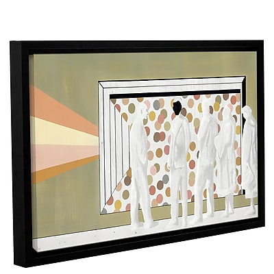 Varick Gallery 'The Lineup' Framed Painting Print On Wrapped Canvas; 32'' H x 48'' W x 2'' D