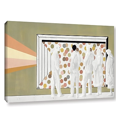 Varick Gallery 'The Lineup' Painting Print On Wrapped Canvas; 24'' H x 36'' W x 2'' D