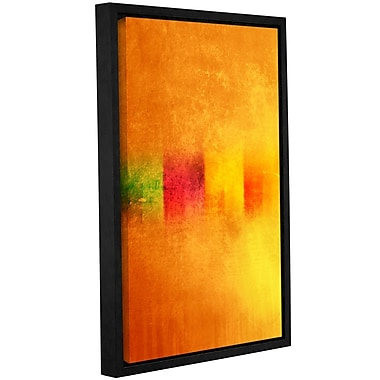 Varick Gallery 'Gambage' Framed Painting Print On Wrppaed Canvas; 24'' H x 16'' W x 2'' D