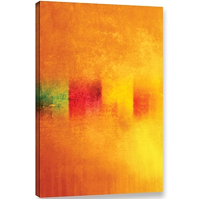 Varick Gallery 'Gambage' Painting Print On Wrapped Canvas; 36'' H x 24'' W x 2'' D