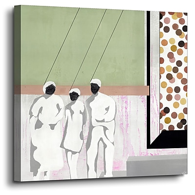 Varick Gallery 'I'M Hung Up' Painting Print On Wrapped Canvas; 24'' H x 24'' W x 2'' D