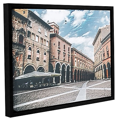 Varick Gallery 'Vintage Architecture' Framed Painting Print On Canvas; 24'' H x 32'' W x 2'' D