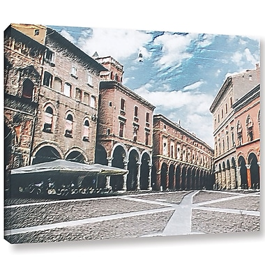 Varick Gallery 'Vintage Architecture' Painting Print On Wrapped Canvas; 36'' H x 48'' W x 2'' D