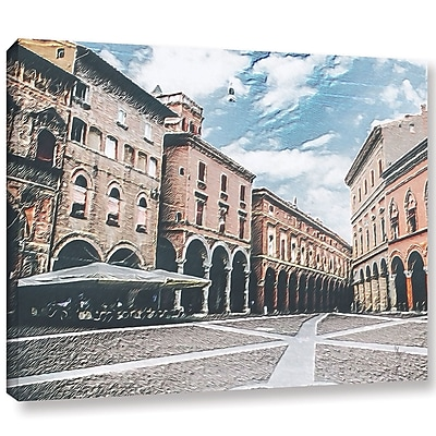 Varick Gallery 'Vintage Architecture' Painting Print On Wrapped Canvas; 14'' H x 18'' W x 2'' D