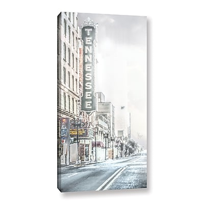 Varick Gallery 'Tennesse Theatre' Painting Print On Wrapped Canvas; 36'' H x 18'' W x 2'' D