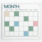 Varick Gallery Enticing Acrylic Calendar Wall D cor