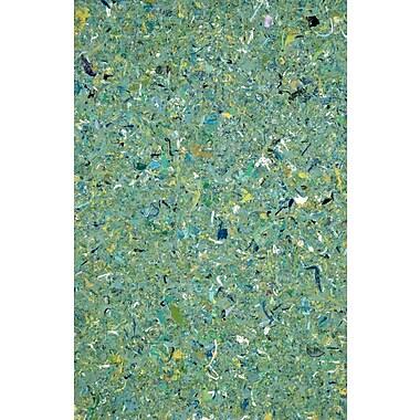 Varick Gallery Chacko Green Indoor/Outdoor Area Rug; 1'6'' x 2'6''