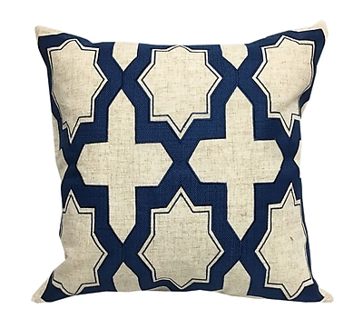 Varick Gallery Chan Geometric Throw Pillow