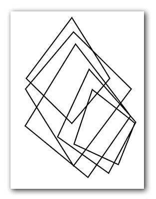 Varick Gallery 'Gilt Mod I-W' Graphic Art Print; 30'' H x 20'' W x 1'' D