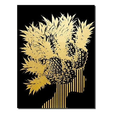 Varick Gallery 'Gilt Mod XIV' Graphic Art Print; 40'' H x 30'' W x 1'' D