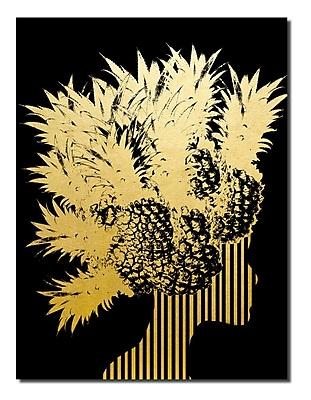 Varick Gallery 'Gilt Mod XIV' Graphic Art Print; 20'' H x 16'' W x 1'' D