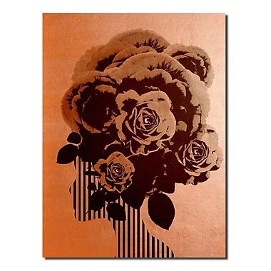 Varick Gallery 'Gilt Mod XV' Graphic Art Print; 20'' H x 16'' W x 1'' D