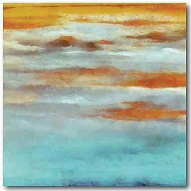 Varick Gallery 'Abstract Horizon I' Graphic Art Print on Canvas