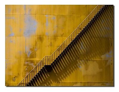 Varick Gallery 'Climb' Graphic Art Print; 30'' H x 40'' W x 1'' D