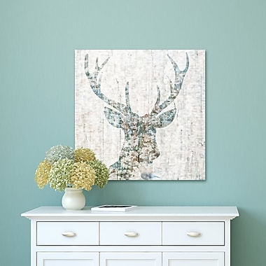 Varick Gallery 'Woodland Deer I' Graphic Art Print on Wrapped Canvas; 30'' H x 30'' W x 1.5'' D