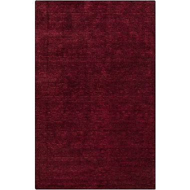 Varick Gallery Griffith Maroon Red Area Rug; 8' x 11'