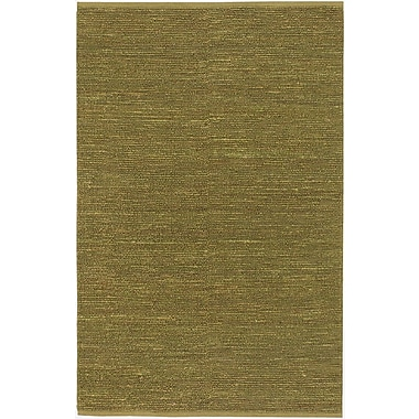 Varick Gallery Bonnett Lime Green Area Rug; 2' x 3'