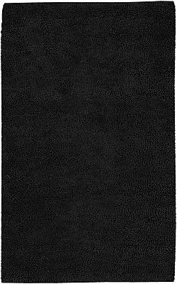 Varick Gallery Bonney Black Area Rug; Round 10'