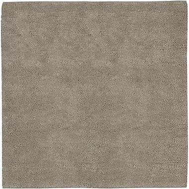 Varick Gallery Bonney Gray Area Rug; Square 8'