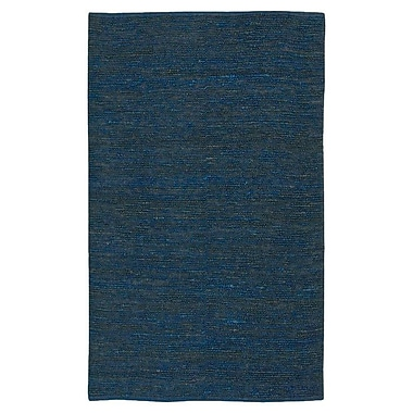Varick Gallery Bonnett Blue Area Rug; 8' x 11'