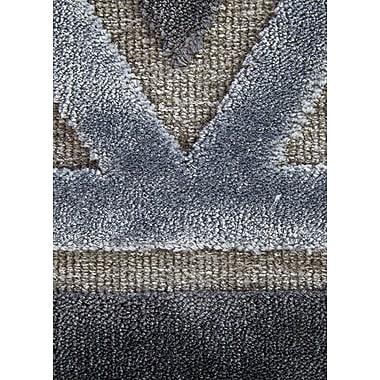 Varick Gallery Heller Pewter/Gray Area Rug; 2' x 3'