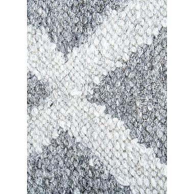 Varick Gallery Heinz Gray Indoor/Outdoor Area Rug; 5' x 8'