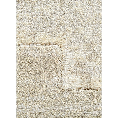 Varick Gallery Heiser Taupe/Gray Area Rug; 2' x 3'