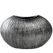 Varick Gallery Silver Ceramic Table Vase; 8.3'' H x 13'' W x 5.1'' D