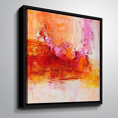 Varick Gallery 'Ethereal Sugar I' Framed Print on Canvas; 24'' H x 24'' W x 2'' D