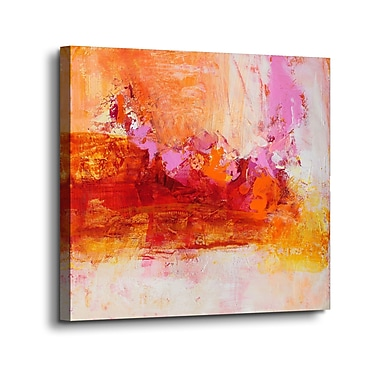 Varick Gallery 'Ethereal Sugar I' Print on Canvas; 36'' H x 36'' W x 2'' D
