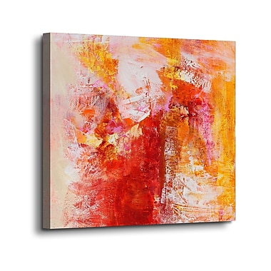 Varick Gallery 'Ethereal Sugar II' Print on Canvas; 18'' H x 18'' W x 2'' D