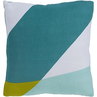 Varick Gallery Sersic 100pct Cotton Pillow Cover; 22'' H x 22'' W